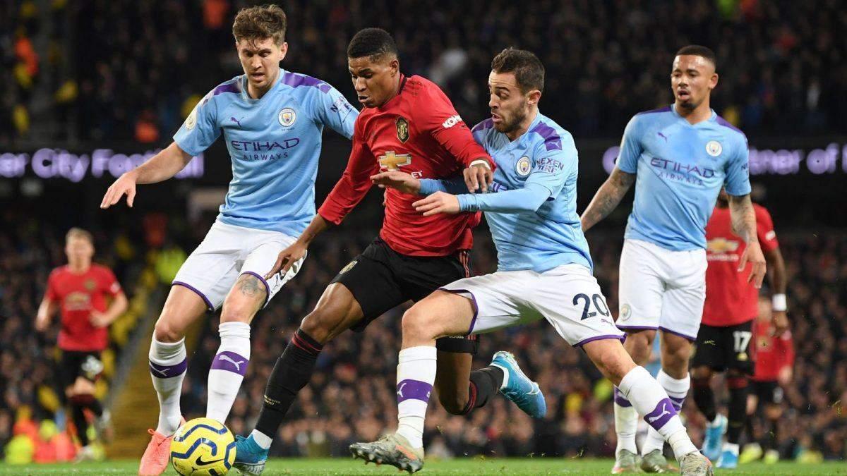 Манчестер Юнайтед – Манчестер Сіті:где смотреть онлайн матч 08.03.2020