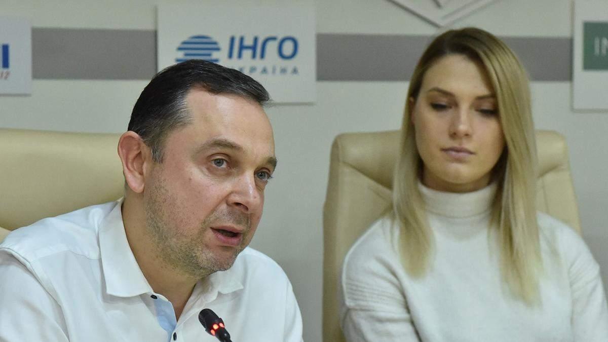 Вадим Гутцайт и Ольга Харлан