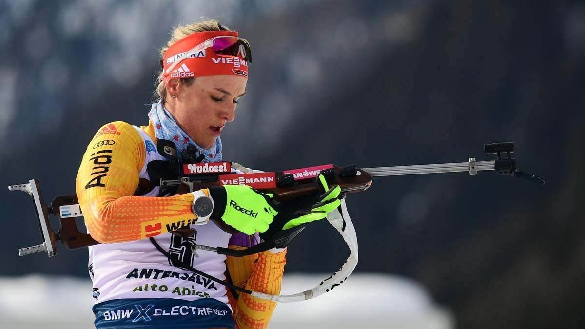 Біатлон: Семеренко прикро втратила нагороду в Нове-Мєсто, перемога Херрманн