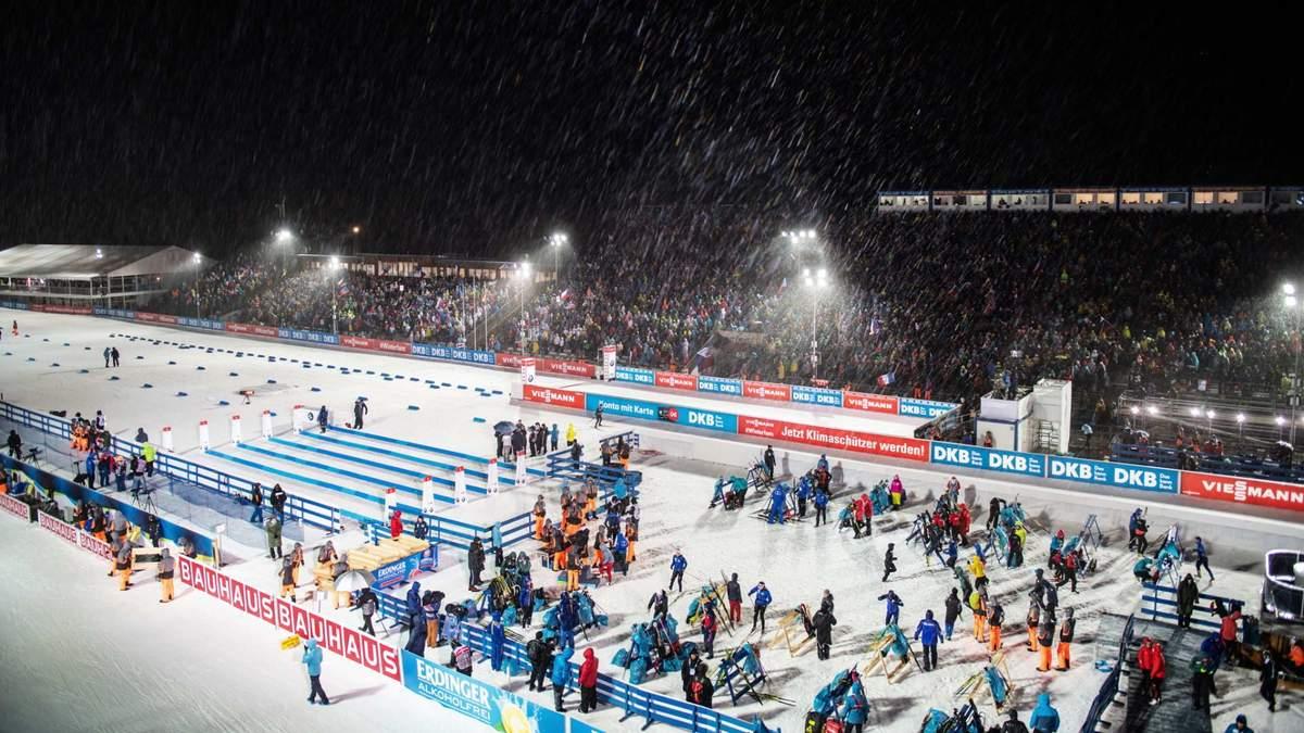 Российская биатлонистка отметила украинских болельщиков в Нове-Место