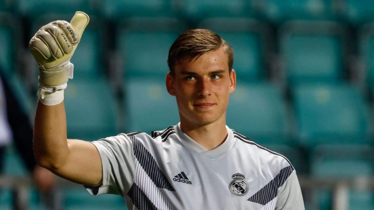 """""""Реал"""" хоче зробити Андрія Луніна другим голкіпером у наступному сезоні"""