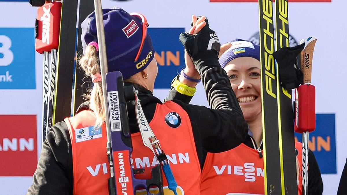 Біатлон: збірна України драматично втратила нагороду в жіночій естафеті, перемога Норвегії