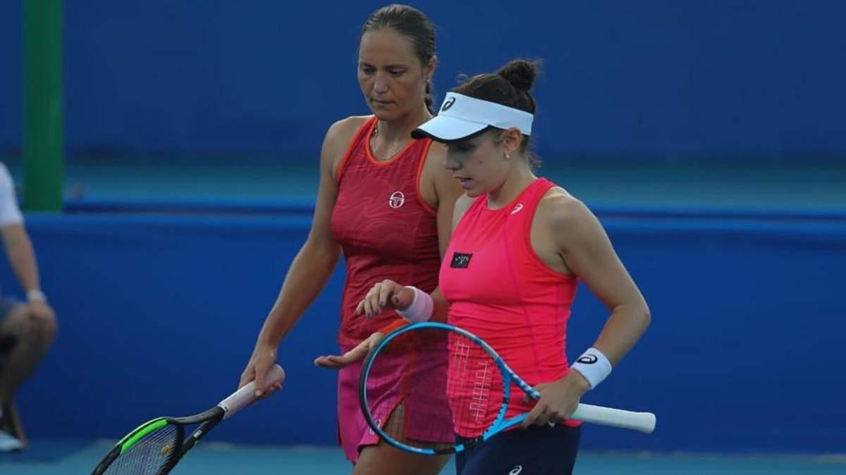 Українська тенісистка Катерина Бондаренко стала переможницею парного турніру у Мексиці