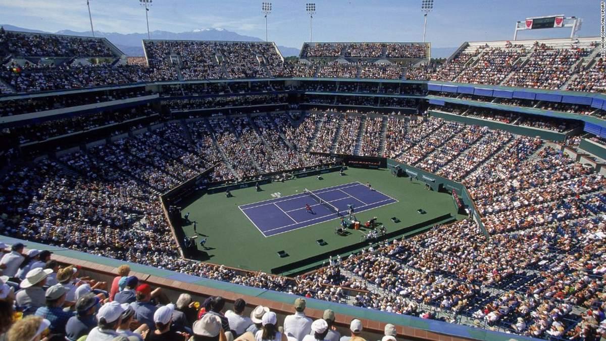 Престижный турнир по теннису серии WTA Premier Mandatory в американском Индиан-Уэллс отменено