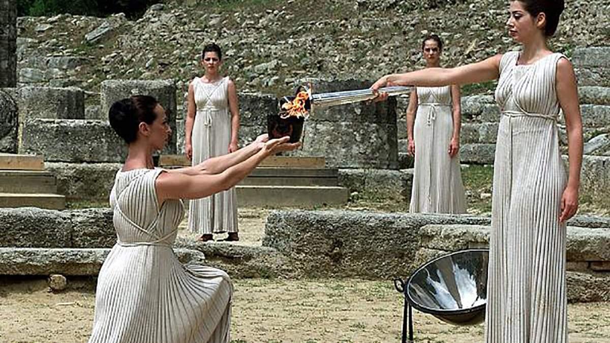 Церемонія запалення олімпійського вогню відбудеться без глядачів