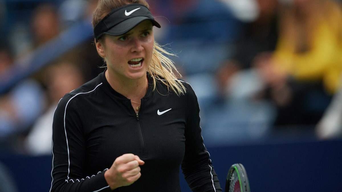 Божевільний розіграш у виконанні Світоліної став найкращим на турнірі WTA: відео