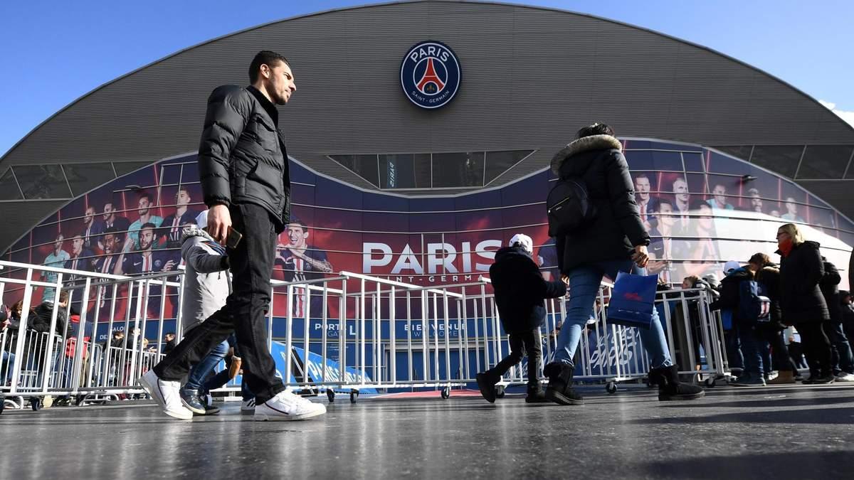 У чемпіонаті Франції обмежили присутність футбольних вболівальників на трибунах