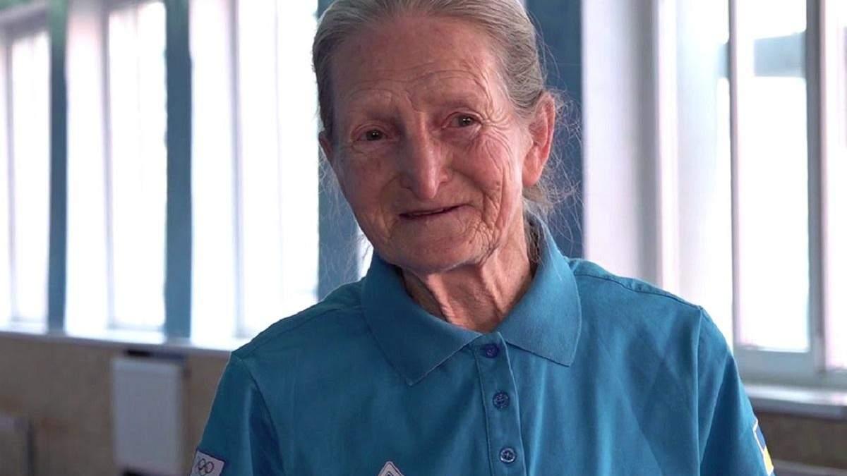 Спорт без меж: 80-річна бабуся встановила рекорд України з бігу – відео