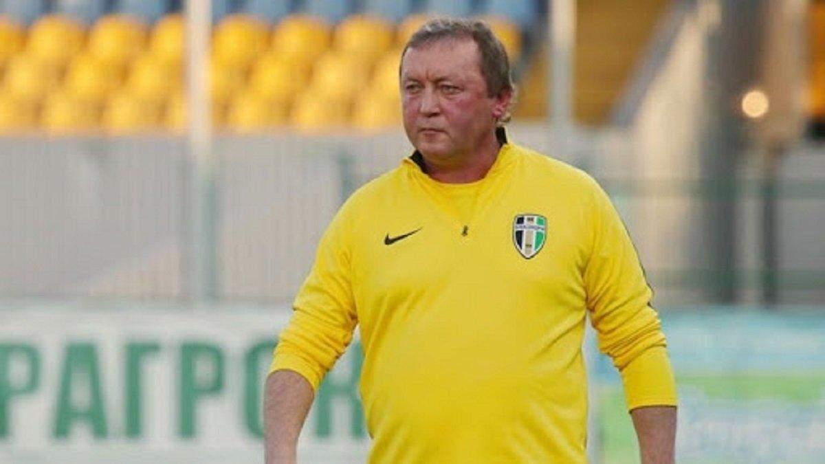Тренеру українського топ-клубу стало погано після матчу – деталі