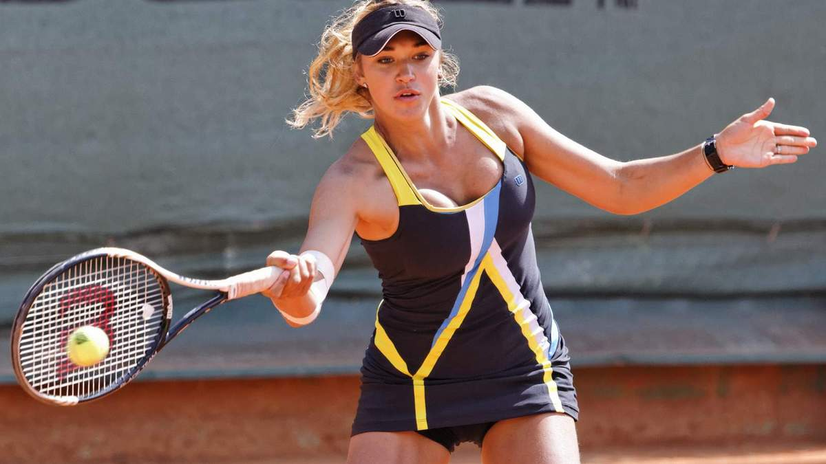 Ще одна українська красуня в тенісі, яка виграла перший 25-тисячник у кар'єрі – фото