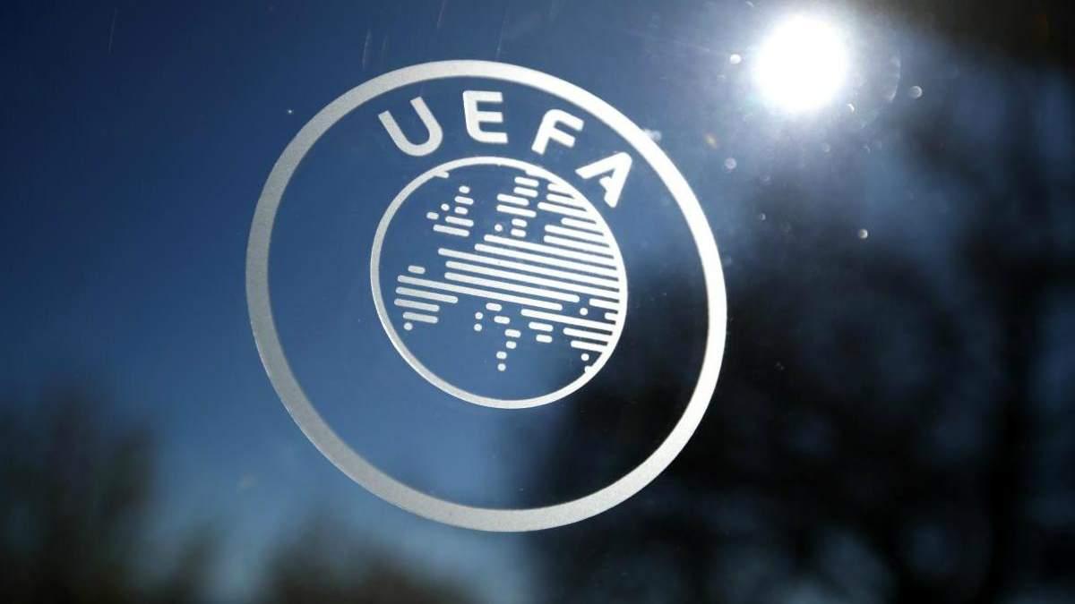УЄФА переніс матчі відбору на  чемпіонати Європи за участі українських збірних