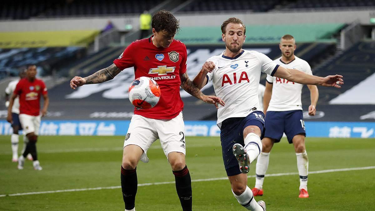 Тоттенхэм – Манчестер Юнайтед: обзор и счет матча 19 июня 2020