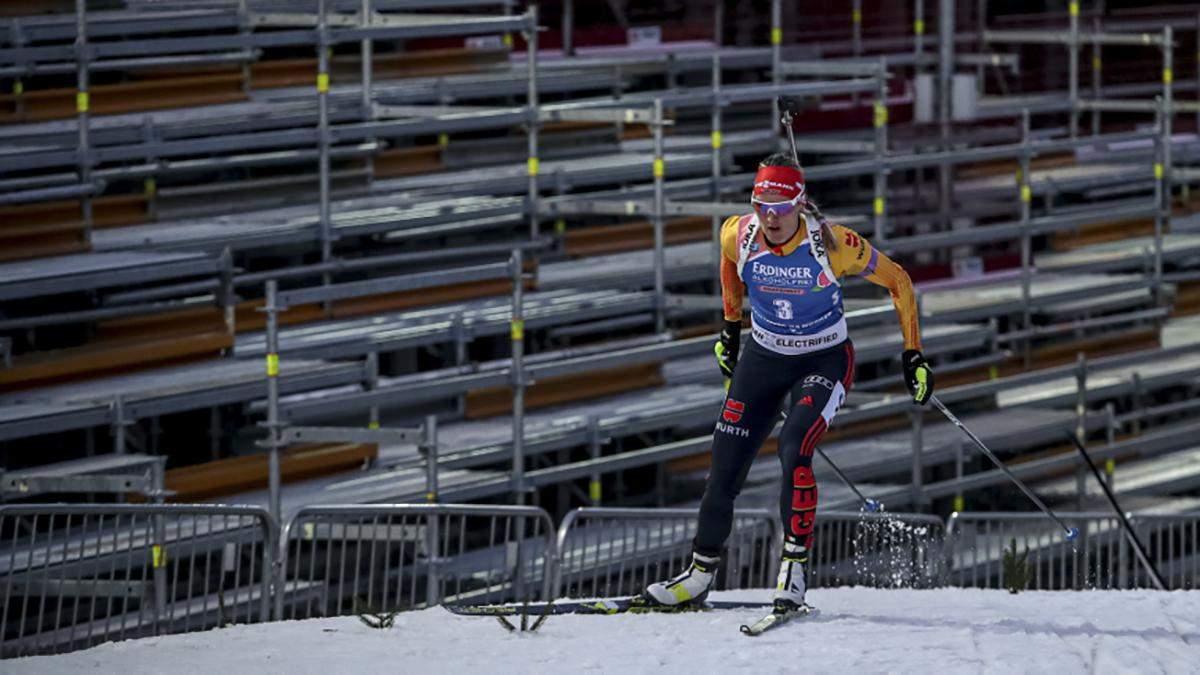 Біатлон: Геррманн перемогла у спринті і виграла Кришталевий глобус, Семеренко – 14-а
