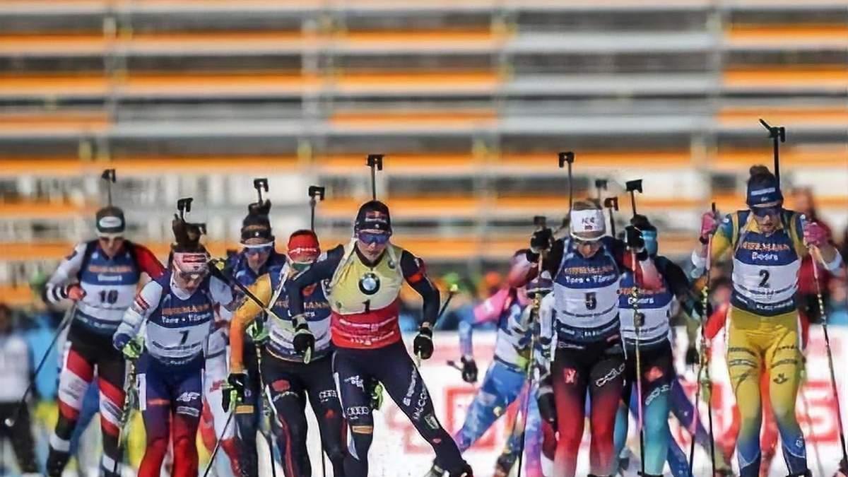 Восьмой этап Кубка мира по биатлону в Финляндии будет завершен досрочно