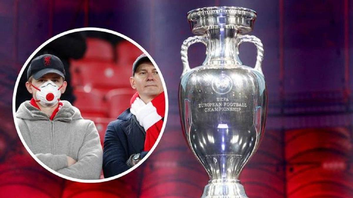 Євро-2020: УЄФА змушений перенести чемпіонат на 2021 рік