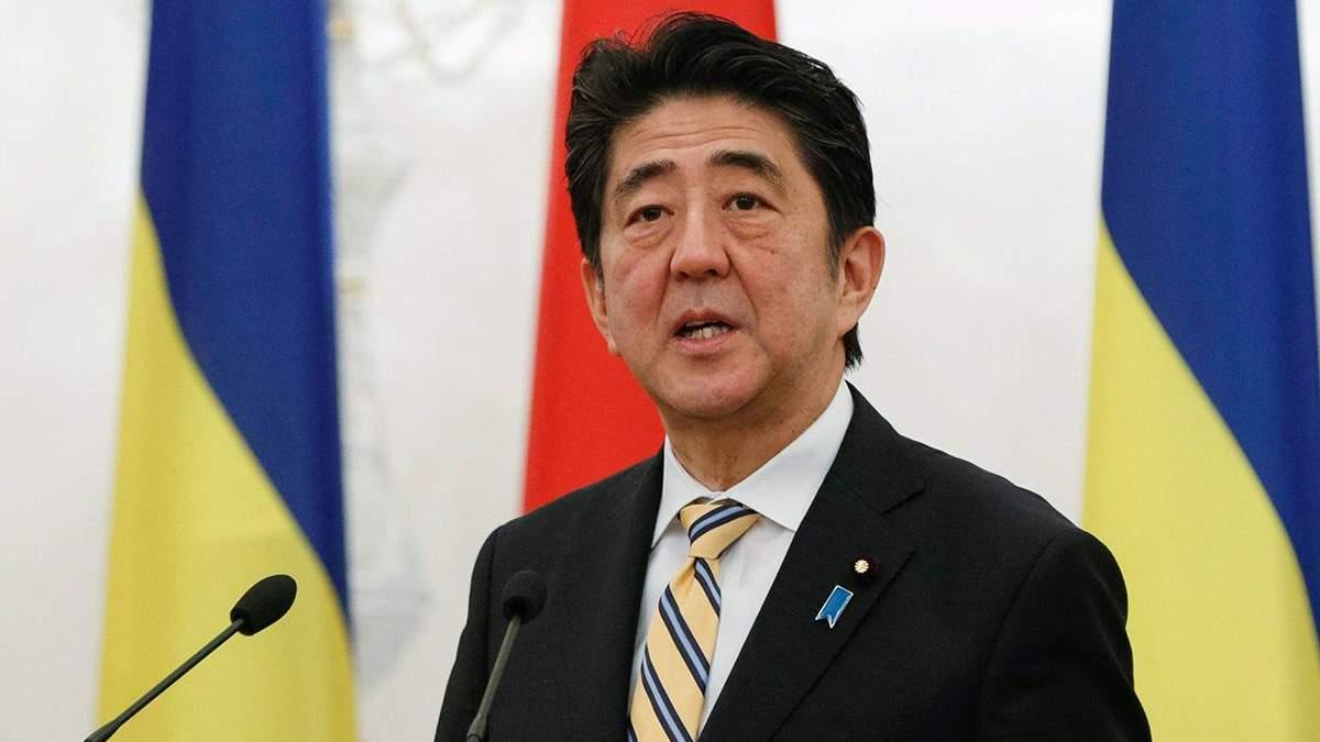 Японський прем'єр-міністр пообіцяв не скасовувати Олімпіаду-2020