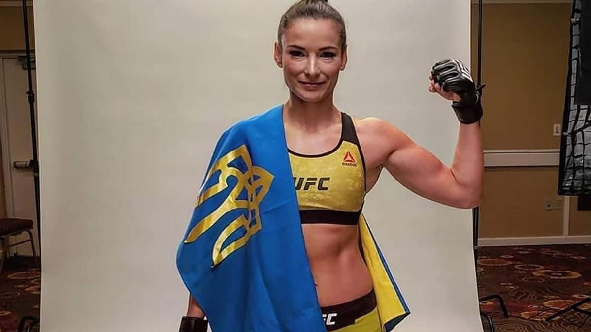 Українка Марина Мороз перемогла бразилійку та встановила новий рекорд UFC: відео