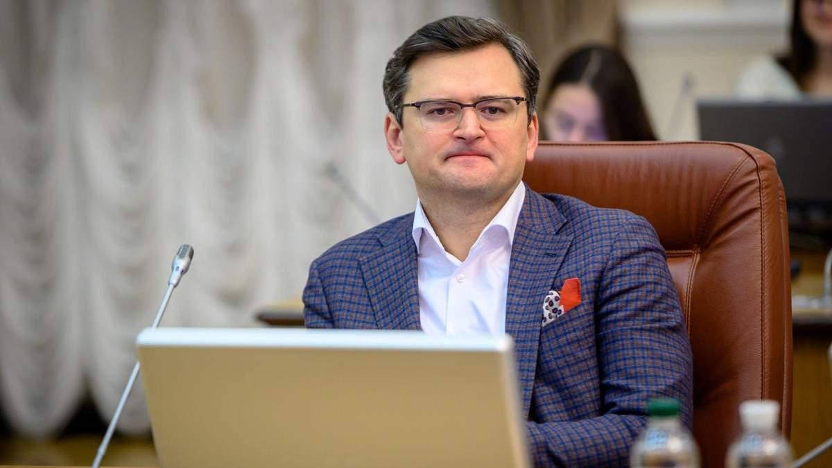У Греції застрягла одна зі спортивних збірних України, – міністр Кулеба