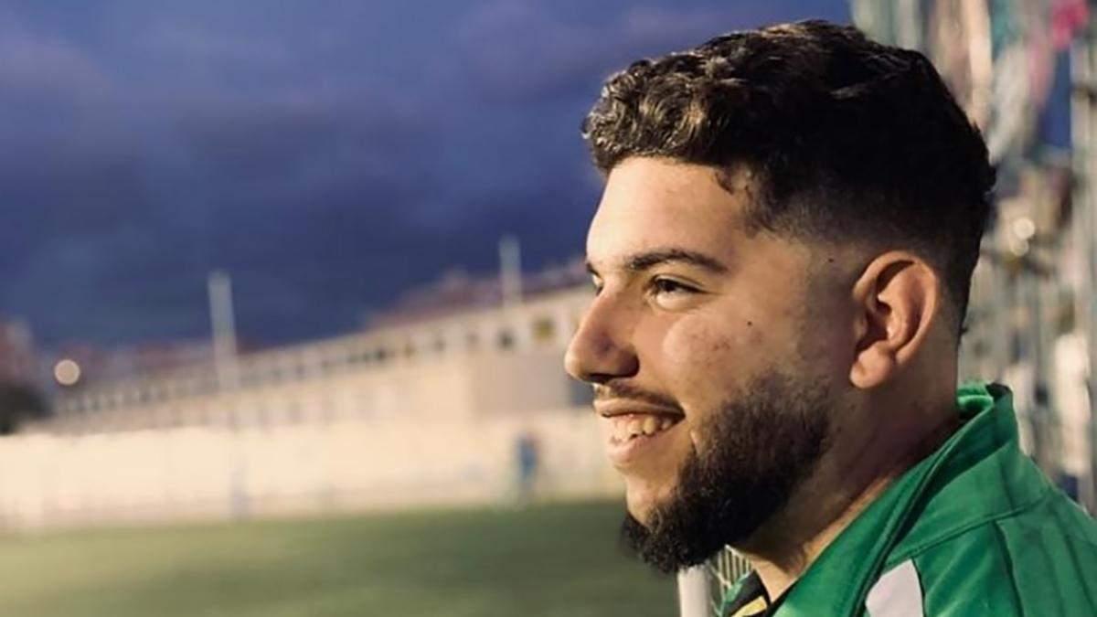 21-літній іспанський футболіст Франціско Гарсія помер від коронавірусу