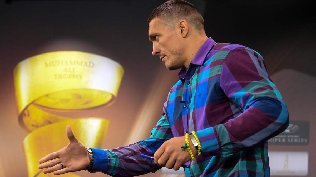 Джошуа не зможе стати абсолютним чемпіоном світу без Усика