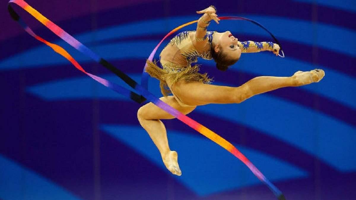 Чемпионат Европы по художественной гимнастике в Киеве отменен