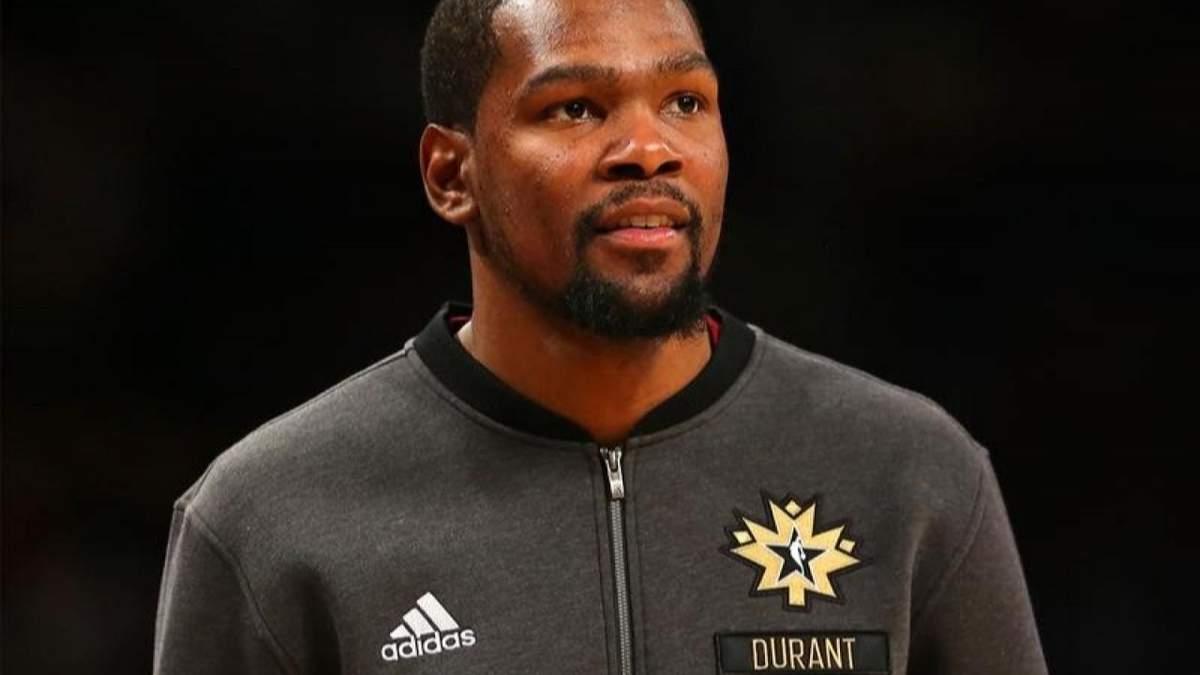 Звездный баскетболист Кевин Дюрант заболел коронавирусом