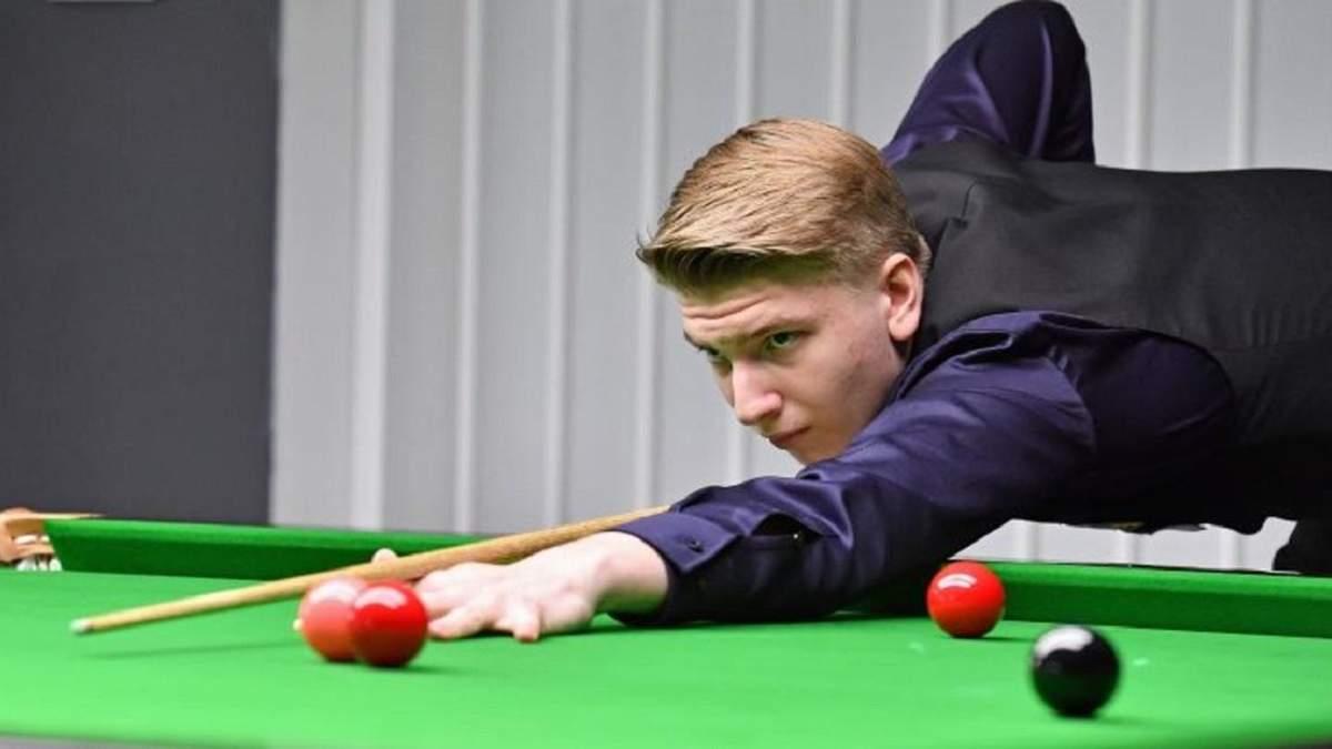 14-річний киянин Юліан Бойко став чемпіоном Європи зі снукеру