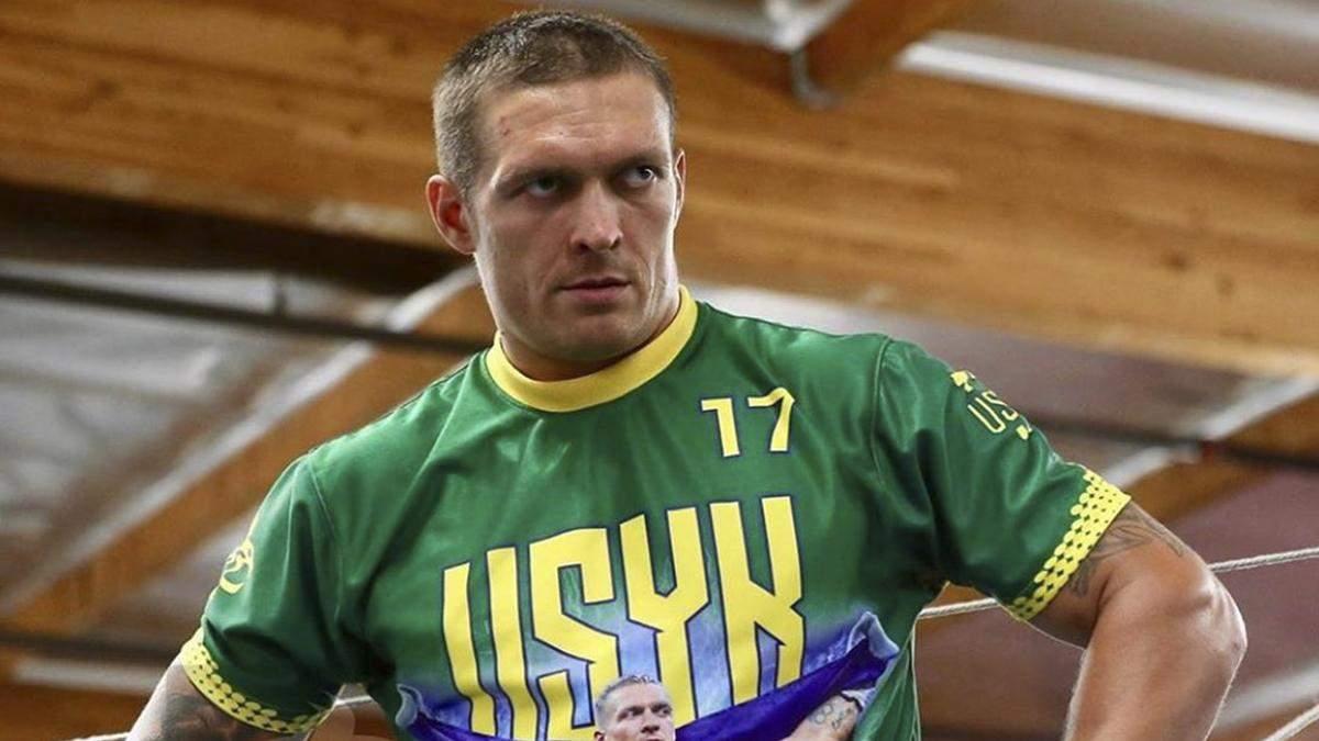 Усик повторил эффектный трюк Ломаченко с монетами: видео