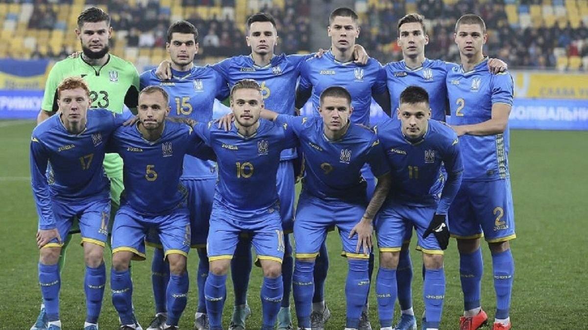 Євро-2021: УЄФА офіційно переніс матчі збірної України U-21