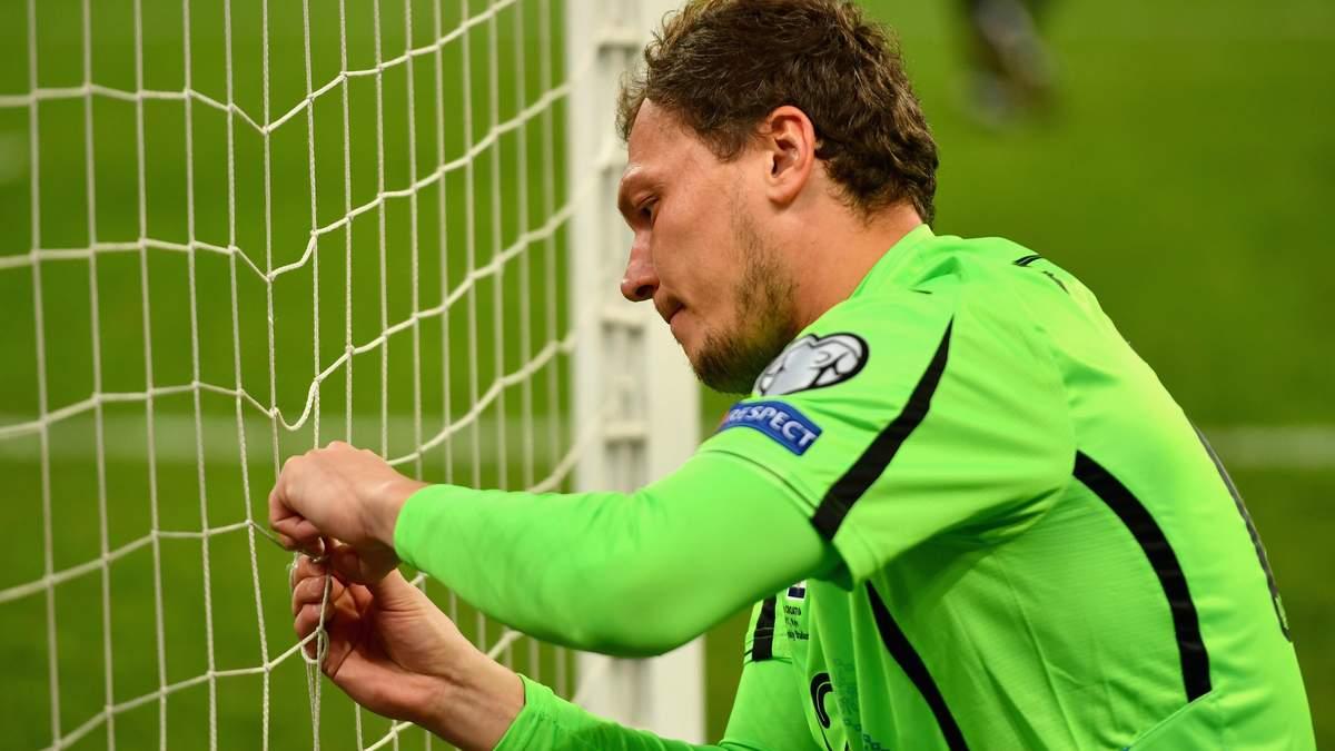 Андрій Пятов зробив рішучу заяву, чи зіграє він за збірну України на Євро-2021