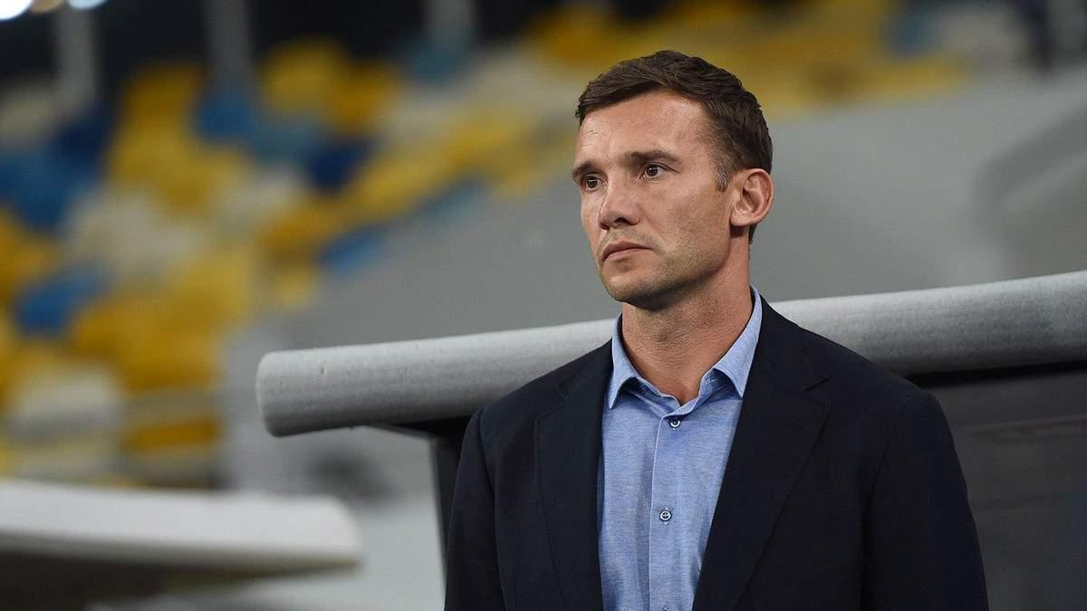 Шевченко веде переговори про продовження контракту зі збірною України