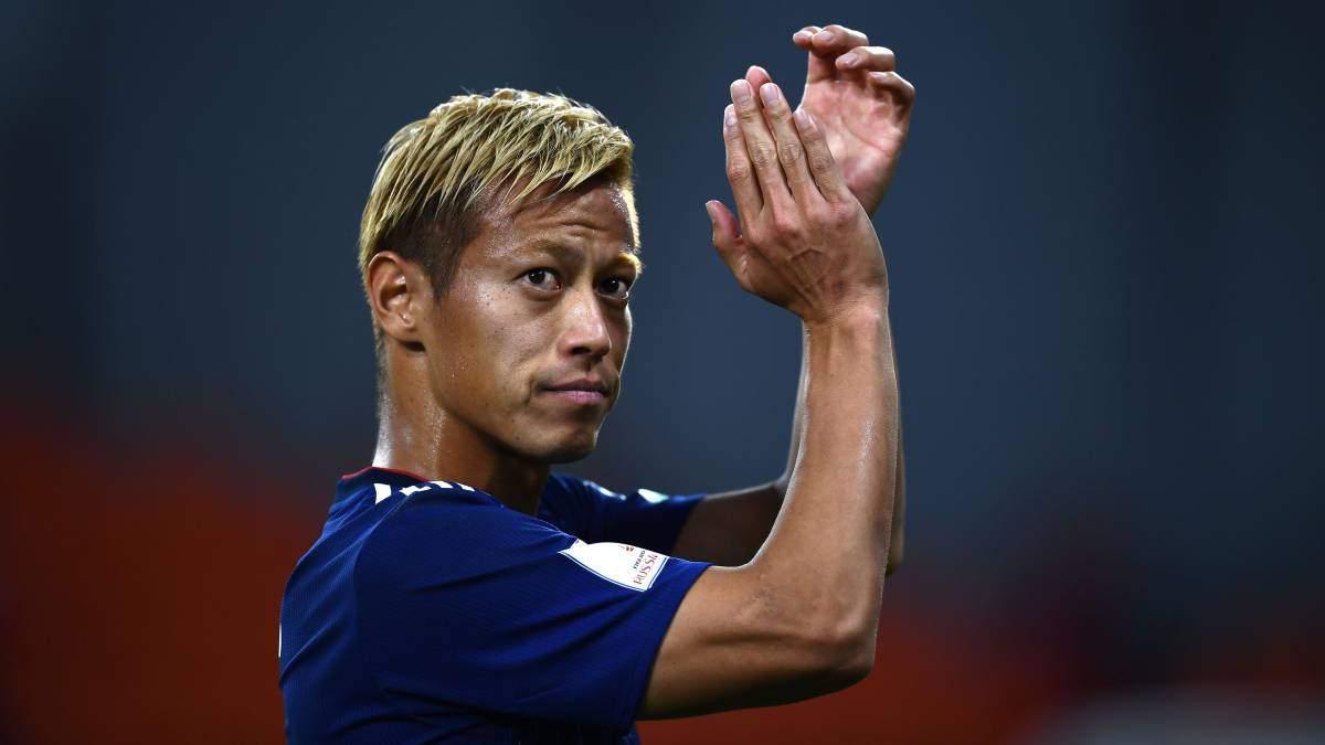 Японський  футболіст Кейсуке Хонда переписав історію футболу, забивши голи на п'яти континентах