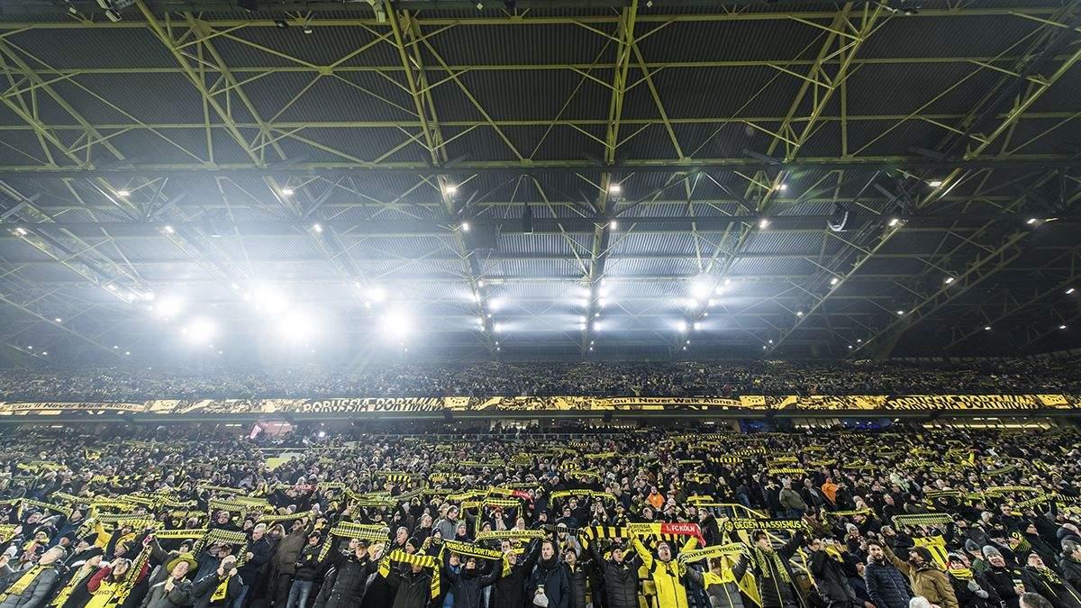 """""""Боруссия"""" включила легендарную песню на пустом стадионе и обратилась к фанам: видео"""