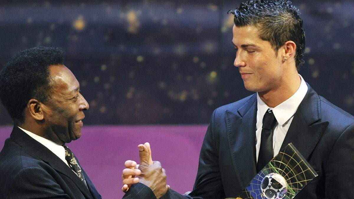 Роналду чи Мессі: легендарний Пеле назвав найкращого футболіста світу