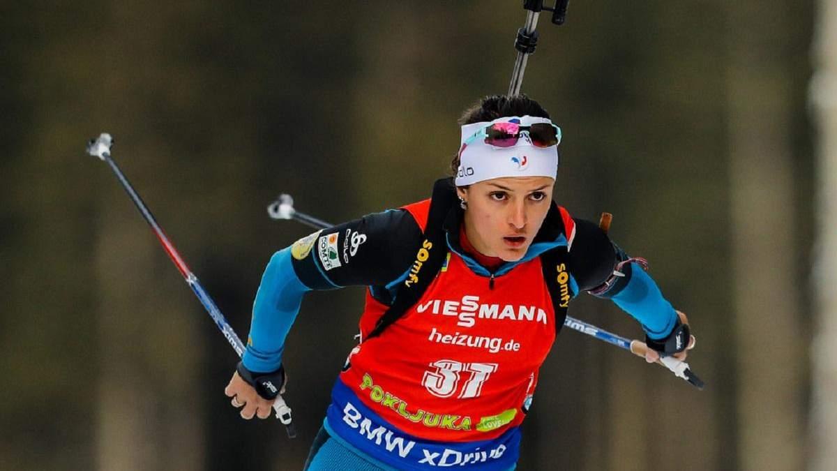 Відома французька біатлоністка завершила кар'єру