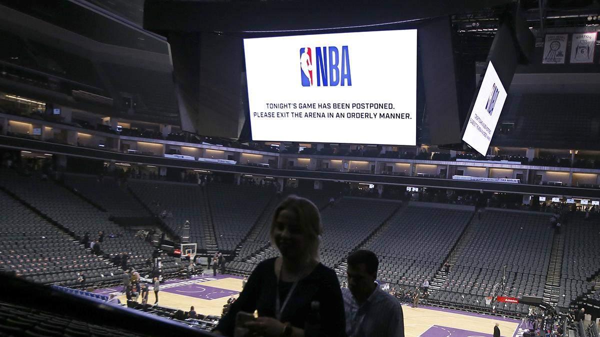 НБА потеряет 1 миллиард долларов из-за коронавируса