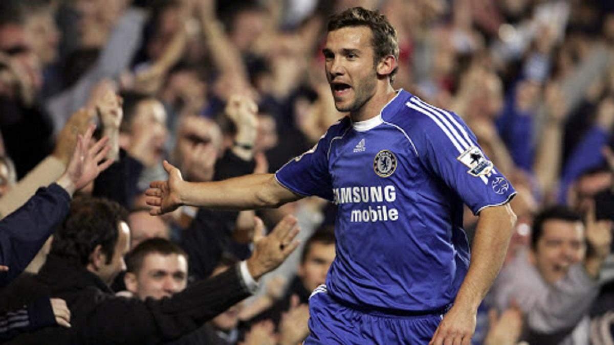 Андрей Шевченко попал в сборную самых дорогих футболистов мира в 2007 году: фото
