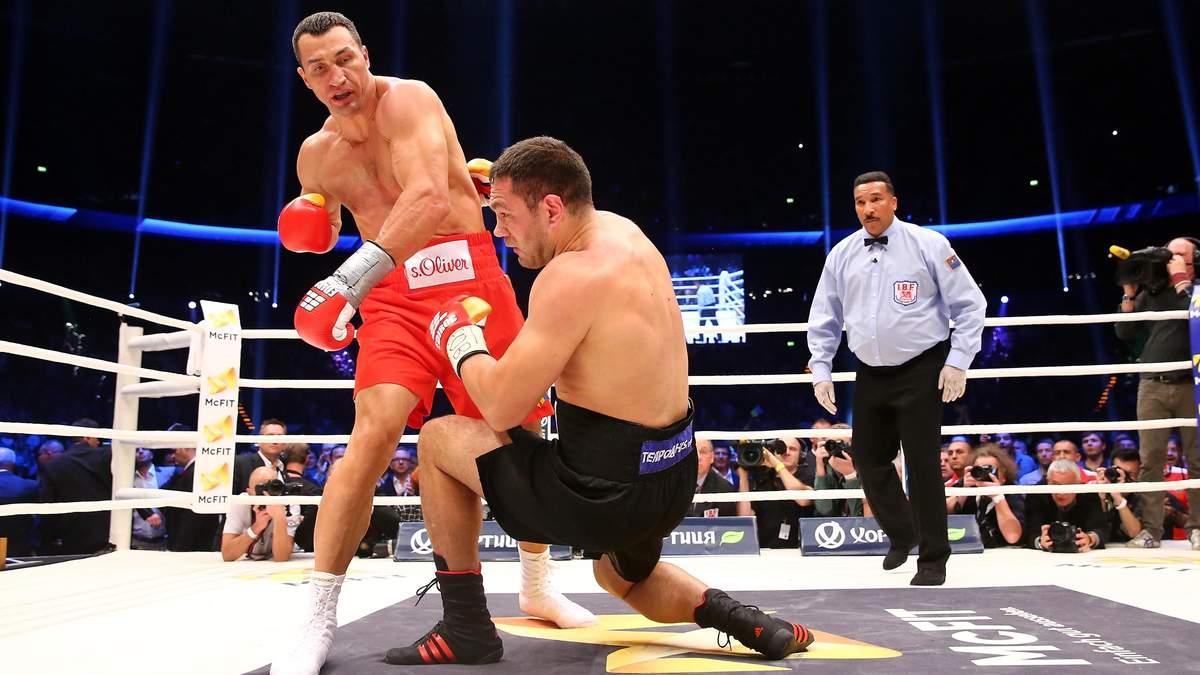 Владимиру Кличко – 44: лучшие нокауты боксера