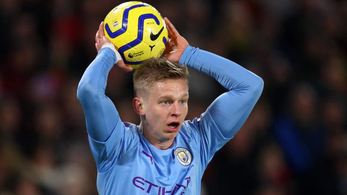 """""""Манчестер Сіті"""" переглядає на позицію Зінченка відразу трьох футболістів"""