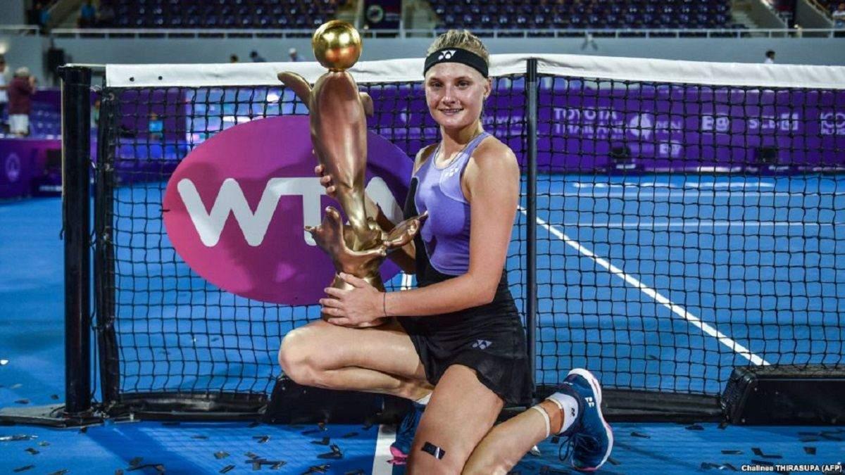 WTA зняла історію про життя талановитої тенісистки Даяни Ястремської
