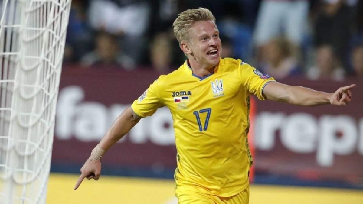 Зінченко приніс дві перемоги Україні над Францією