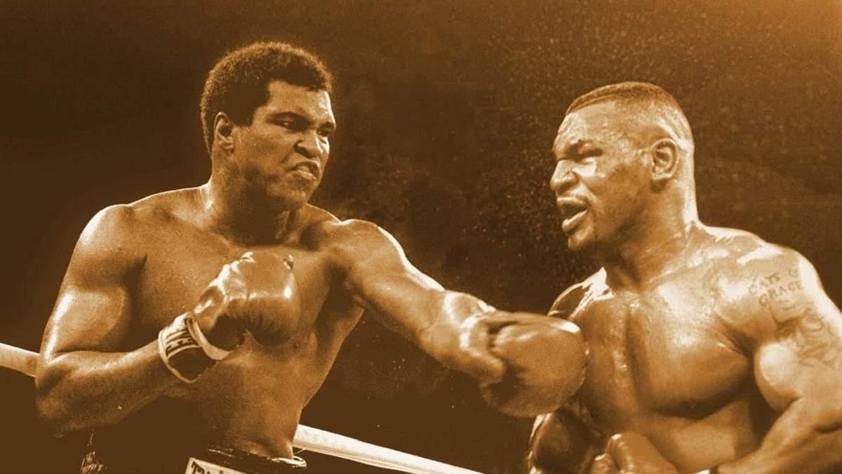 Легенды на виртуальном ринге: Майк Тайсон дважды отправил Мухаммеда Али в нокдаун – видео