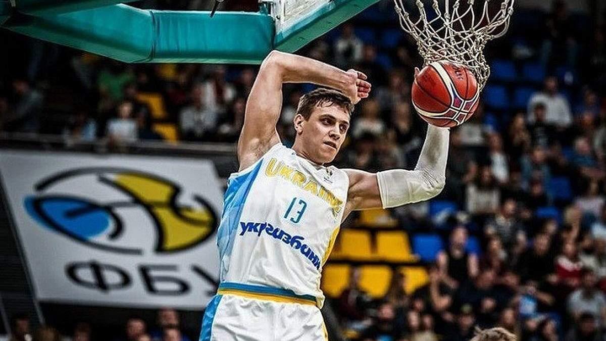 Баскетболист сборной Украины Бобров вылечился от коронавируса