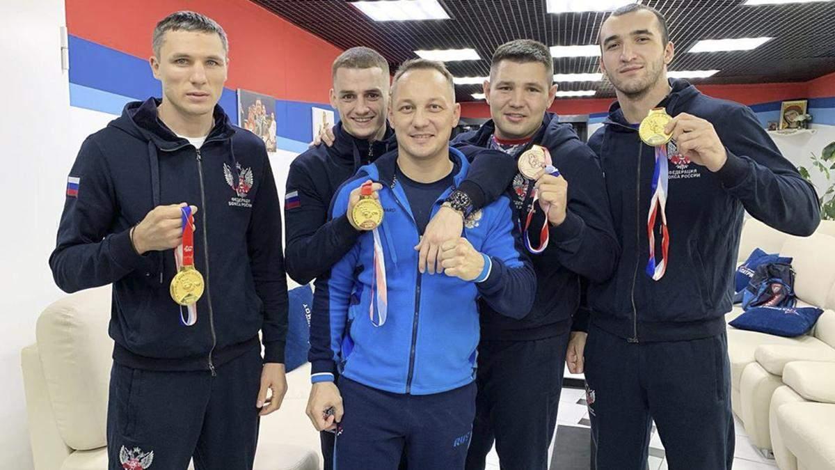 Российский тренер рассказал, мог ли заразить Усика коронавирусом