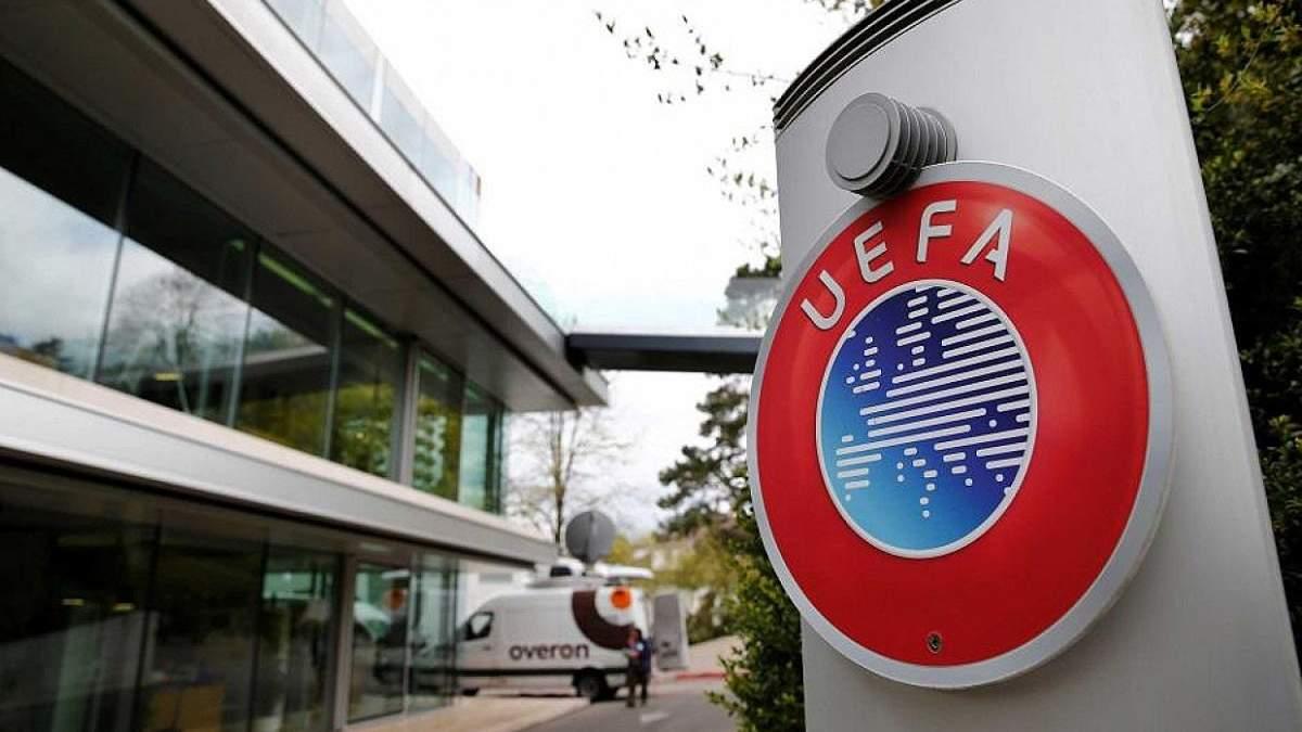 УЕФА призывает лиги не завершать чемпионаты досрочно, соревнования планируют восстановить в мае