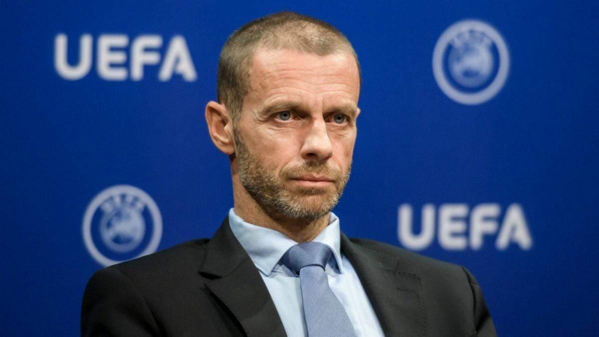 Президент УЄФА Чеферін пригрозив Бельгії виключенням з єврокубків – причина