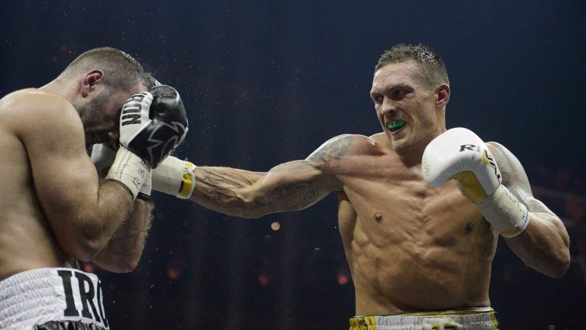 Усик назвав боксерів, з якими хоче битися після Чісори