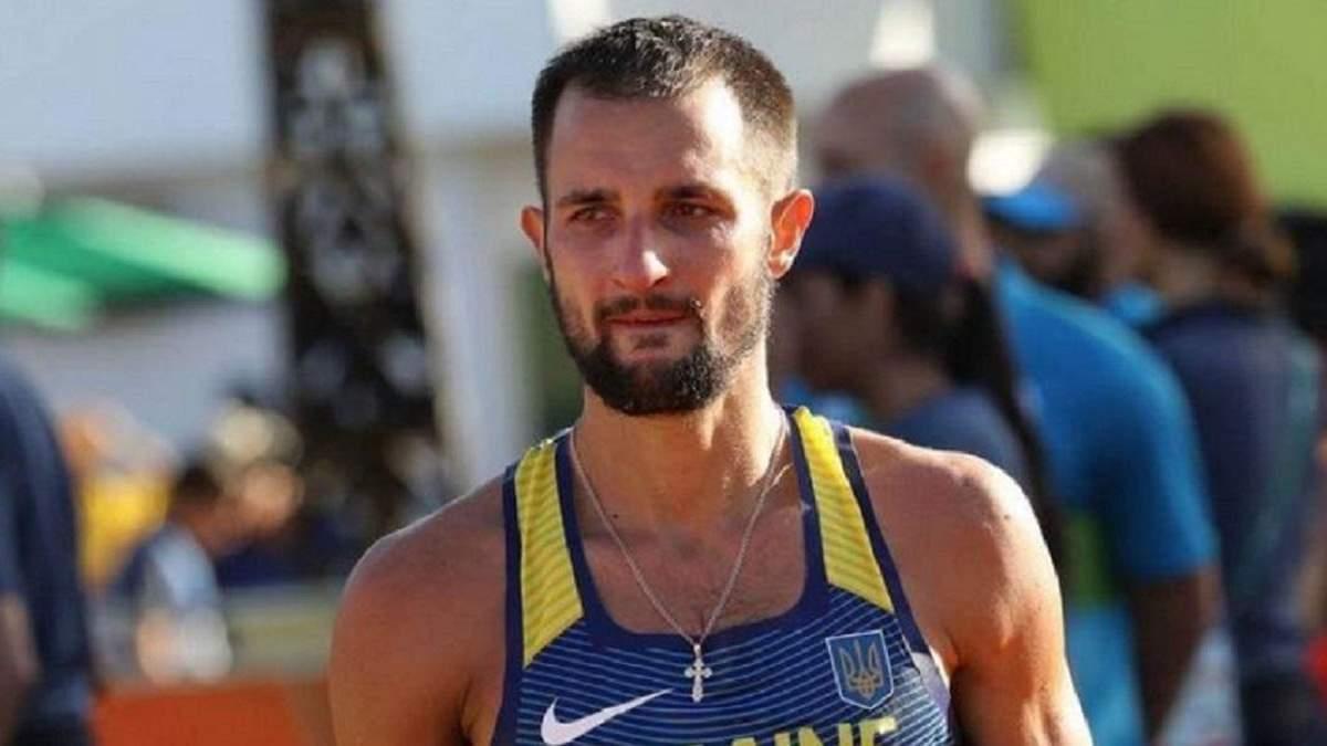 Украинского легкоатлета дисквалифицировали на три года за употребление допинга