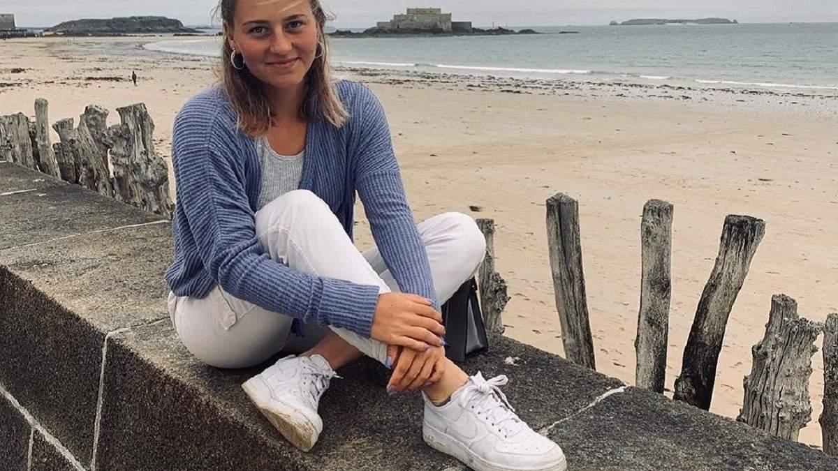 Українська тенісистка Костюк поділилась із вболівальниками спокусливим фото