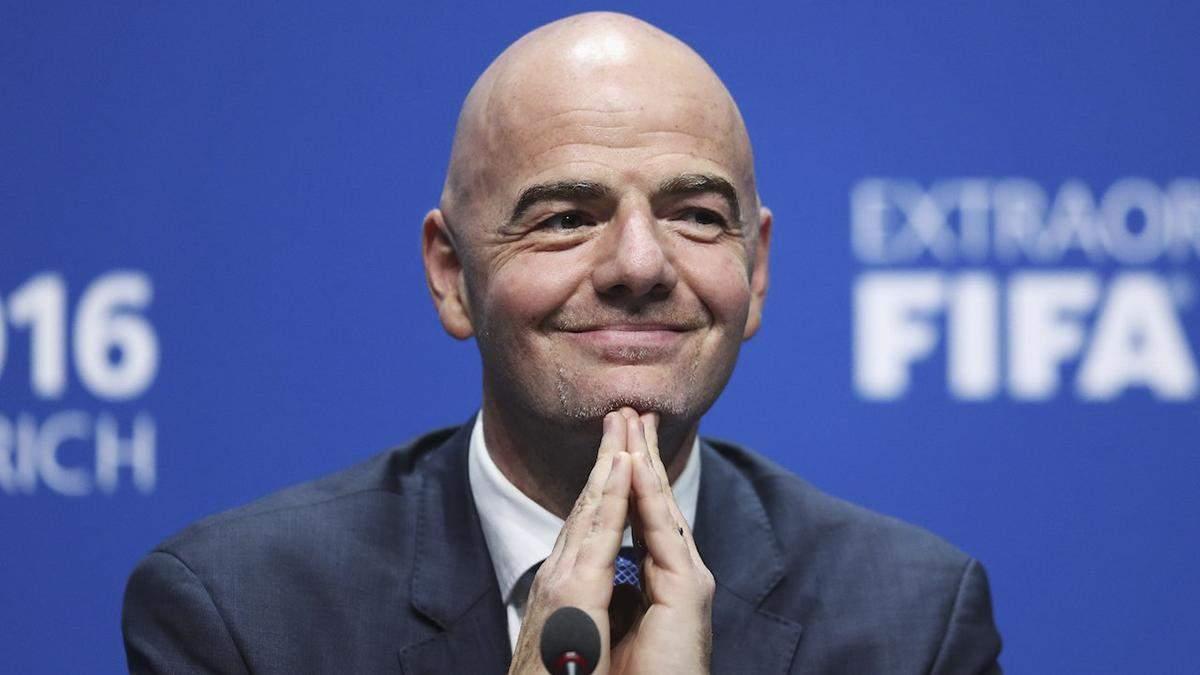 У ФІФА вирішили, чи скасовувати футбольний сезон